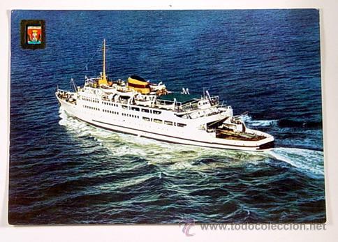 103-ALGECIRAS.CADIZ-TRANSBORDADOR VICTORIA.NO CIRCULADA. (Postales - Postales Temáticas - Barcos)
