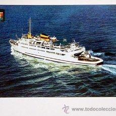 Postales: 103-ALGECIRAS.CADIZ.TRANSBORDADOR VICTORIA.NO CIRCULADA.. Lote 8341223