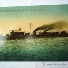 Postales: MARINA DE GUERRA ESPAÑOLA N. 12-TORPEDERO OSADO-SIN CIRC.. Lote 8982864