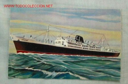 TARJETA POSTAL NAVAL (Postales - Postales Temáticas - Barcos)