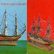 Postales: PAREJA DE POSTALES DE BARCOS. Lote 1822213