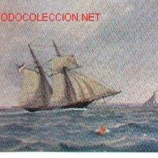 Postales: 7-BARCO137. POSTAL BARCO DUITSCHE SCHOENER 1840. Lote 2844648