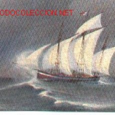 Postales: 7-BARCO139. POSTAL BARCO FRANSCHE LOGGER. Lote 2844676
