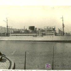 Postales: TARJETA POSTAL DEL BARCO VILLA DE MADRID L. ROISIN. Lote 19325424