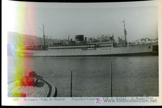 TARJETA POSTAL DE BARCO.VILLA DE MADRID.L.ROISIN (Postales - Postales Temáticas - Barcos)