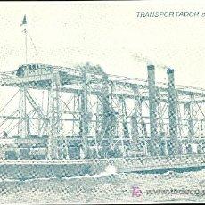 Postales: TARJETA POSTAL DE BARCO. TRANSPORTADOR DE TRENES. Lote 19325431