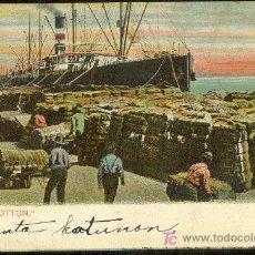 Postales: TARJETA POSTAL DEL LOADING COTTON. Lote 13974481