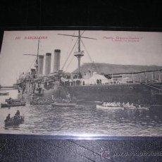 Postales: 101 BARCELONA - PUERTO, CRUCERO CARLOS V., L.ROISIN. Lote 10472410