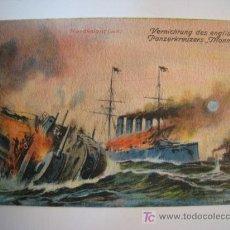 Postales: POSTAL BARCO: ACORAZADO MONMOUTH (INGLATERRA). Lote 10906979
