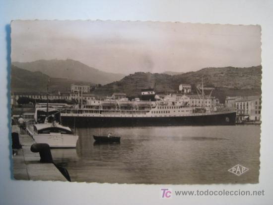 POSTAL BARCOS EL MANSOUR (PAGES) (Postales - Postales Temáticas - Barcos)