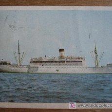Postales: S.S. ISTAMBUL. TURKISH MARITIME LINES. POSTAL CIRCULADA 1964. Lote 34443309