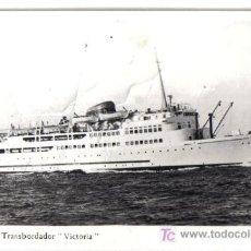 Postales: POSTAL DEL TRANSBORDADOR VICTORIA- . Lote 26609554