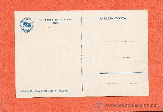 Postales: COMPAÑIA TRASÁTLANTICA BARCELONA. CONDE DE ARGELEJO. ANTONIO LÓPEZ. PRECIOSA !! - Foto 2 - 26876270