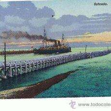 Postales: BARCOS, OSTENDE. Lote 14886784