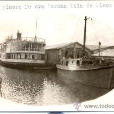 Postales: *POST 156 - POSTAL NO CIRCULADA: VAPOR PINERO NU EVA GERONA ISLA DE PINOS. Lote 25516175