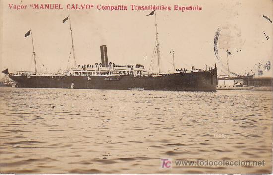 POSTAL DEL VAPOR (Postales - Postales Temáticas - Barcos)