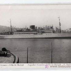 Postales: TARJETA POSTAL DE MOTANAVE VILLA DE MADRID Nº 628. FOTO L. ROISIN. Lote 15480796