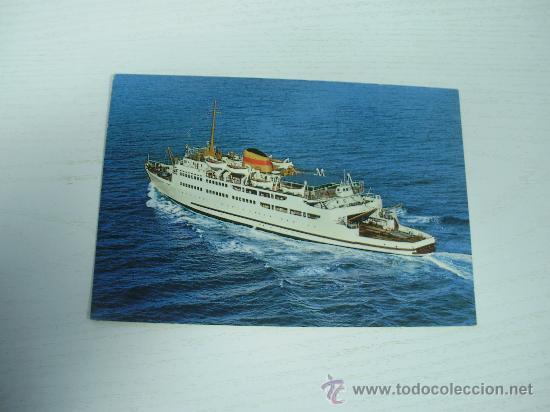 ALGECIRAS (CADIZ) - TRANSBORDADOR VICTORIA (Postales - Postales Temáticas - Barcos)