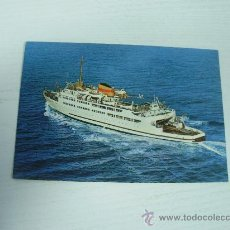 Postales: ALGECIRAS (CADIZ) - TRANSBORDADOR VICTORIA. Lote 16097393