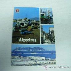 Postales: ALGECIRAS (CADIZ) - ENTRADA DE VEHICULOS AL TRANSBORDADOR VIRGEN DE AFRICA. Lote 16097629