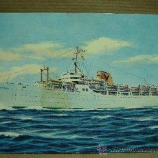 Postales: ANTIGUA POSTAL BARCO PASAJEROS FAIRSEA - STIMAR LINE - 1968. Lote 17580170