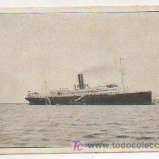 Postales: VAPOR CORREO INFANTA ISABEL DE BORBÓN. COMPAÑIA TRANSATLANTICA ESPAÑOLA. Lote 17796443