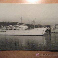 Postales: VAPOR CORREO CIUDAD DE BURGOS Nª 145. EXC. DIUNMA. 1959. POSTAL SIN CIRCULAR. Lote 23999207