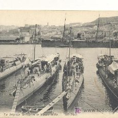 Postales: ORAN, DEFENSA MOVIL Y LA CIUDAD ANTIGUA, POSTAL ESCRITA EN 1914. Lote 26229509
