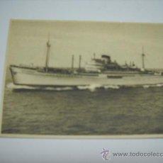 Postales: MOTONAVE PAOLO TOSCANELL. ITALIA SOCIETA DI NAVIGAZIONE. GENOVA. SIN CIRCULAR. Lote 18622350