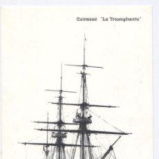 Postales: POSTAL BARCO *CUIRASSÉ LA TRIOMPHANTE* - MARINA MILITAR FRANCESA. Lote 19664561