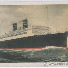 Postales: TARJETA POSTAL DEL BARCO TRANSATLANTICO MORRO CASTLE ORIENTE WARD LINE NEW YORK HABANA MEXICO. Lote 26394088