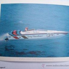 Postales: POSTAL 1980 MARTINI INTERNATIONAL CLUB. DRY MARTINI 3 G.NICOLAI, D.WILSON. OFFSHORE EUROPEAN CHAMPIO. Lote 26356040