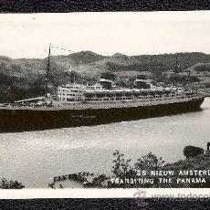 Postales: POSTAL BARCO SS NIEUW AMSTERDAM. Lote 22786709