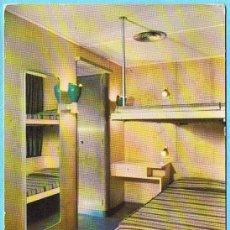 Postales: CAMAROTE DE CABIN CLASS. CABO SAN ROQUE. YBARRA Y CIA, S. A. SEVILLA, 1959.. Lote 22948391