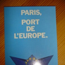 Postales: POSTAL FRANCESA PARIS, PORT DE L'EUROPE, SALON NAUTICO.- PUERTO DE VERSALLES. AÑO 1989. FRANCIA. . Lote 23721339