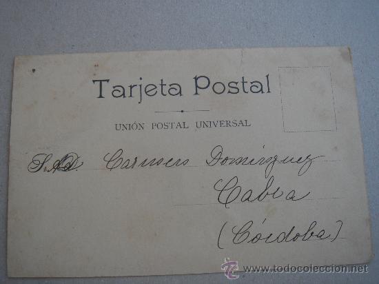 Postales: DETALLE DEL DORSO DE LA POSTAL - Foto 4 - 27396340
