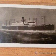 Postales: TARJETA POSTAL BARCOS. BUCKEYE-STATE. CROSSING PACIFIC OCEAN.. Lote 26040122