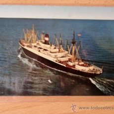 Postales: TARJETA POSTAL. BARCOS. AMERICAN EXPORT LINES. SS. EXETER.. Lote 26040447
