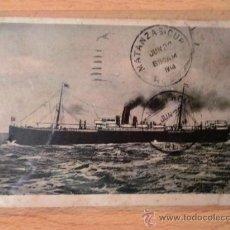 Postales: TARJETA POSTAL. BARCOS. DAMPFER KOLN. OCEAN CONFORT COMPANY M.B.H. BREMEN.. Lote 26040874
