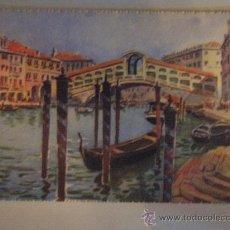 Postales: POST 548 - VENEZIA - PER E.BONI - C. VARAGNOLO - VENEZIA - GONDOLA. Lote 26751944