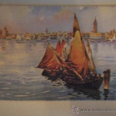 Postales: POST 551 - VENEZIA - PER E.BONI - C. VARAGNOLO - VENEZIA - BARCOS. Lote 26752071