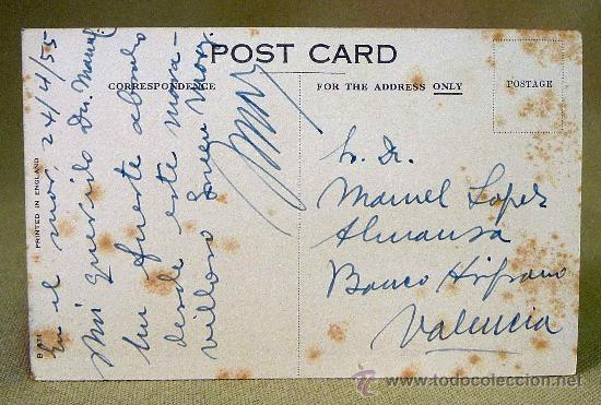 Postales: TARJETA POSTAL, BARCO, CUNARD R.M.S., QUEEN MARY,ENGLAND - Foto 2 - 27733654