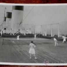 Postales: ANTIGUA FOTO POSTAL DE BARCO TURBINEN SCHNELLDAMPFER - CAP ARCONA - SPORTDECK - ED. C M&S HAMBURG - . Lote 27713976