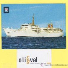 Postales: BARCO-BARCOS- VICENTE PUCHOL - TRANSMEDITERRANEA -P-1038. Lote 28371640