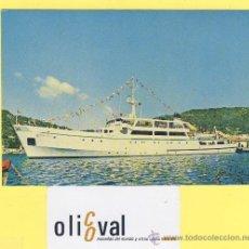 Postales: BARCO-BARCOS-BONIFACIO TIRRENIA NAVIGAZIONE -P-1105-. Lote 28371907