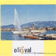 Postales: BARCO-BARCOS- KELVETLE -GENEVE -28 08 72 -MATASELLO-PE-0051. Lote 28372031