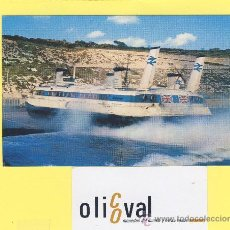 Postales: BARCO-BARCOS- HOVERCRAFT AT DOVER -P-1101-. Lote 28372057