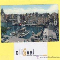 Postales: BARCO-BARCOS-PUERTO-AMSTERDAM -1958 -PE-0025-. Lote 28372171