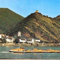Postales: POST 615 - POSTAL DE BARCO CIRCULADA - 5424 KAMP - BORNHOFEN EN RHEIN. Lote 28565057