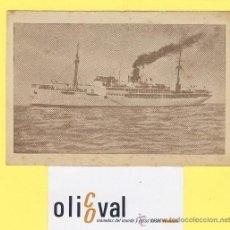 Postales: BARCO-BARCOS - CIE TRASMEDITERRANEA-PLUS ULTRA - AÑOS 40 -135 X 91 MM-P-1030. Lote 28812370
